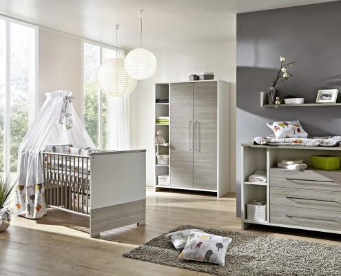 Kinderzimmer Eco Silber