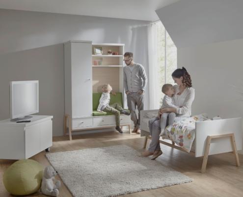 chambre b b holly nature avec armoire table langer combinaison schardt gmbh co kg. Black Bedroom Furniture Sets. Home Design Ideas