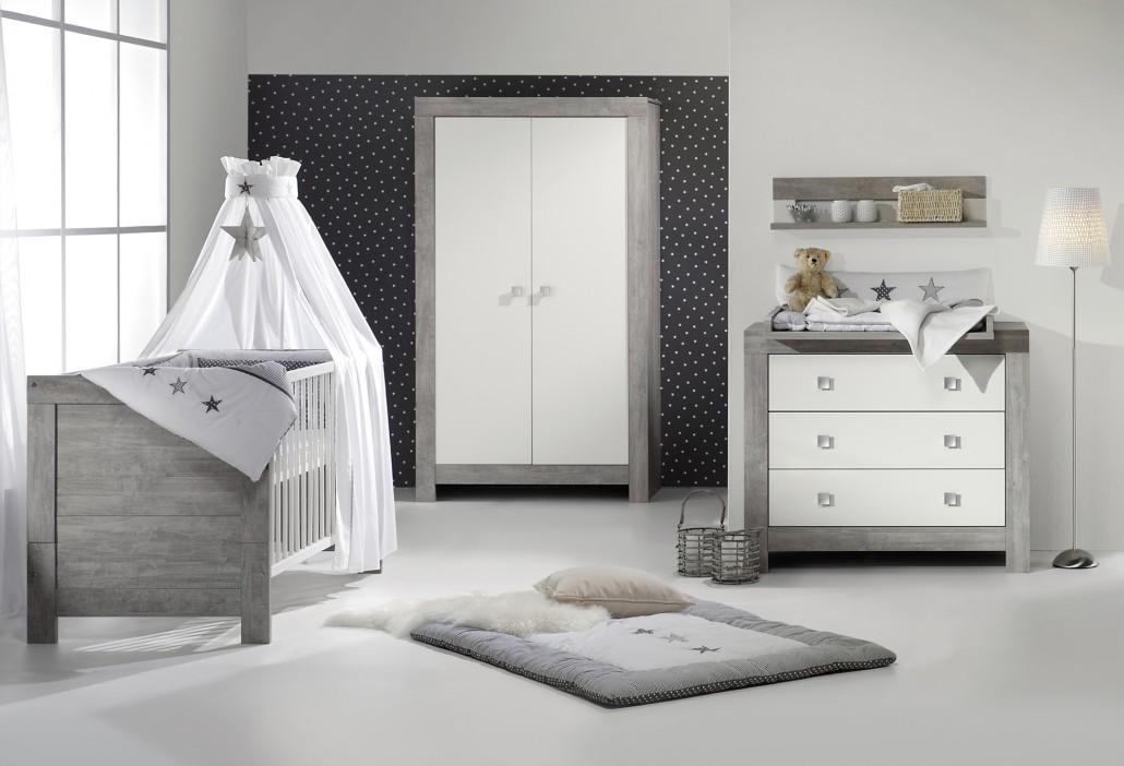 Babyzimmer komplett grau  Schardt GmbH & Co. KG | Kinderzimmer Nordic Driftwood