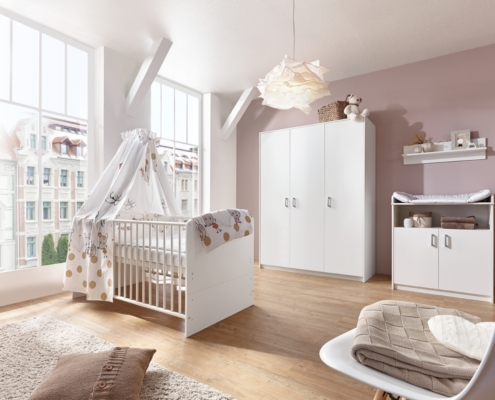 Kinderzimmer Classic White