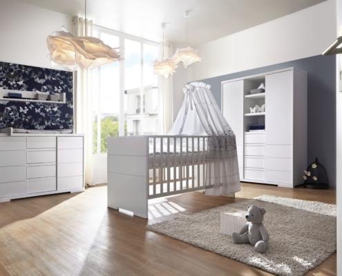 Kinderzimmer Maxx White