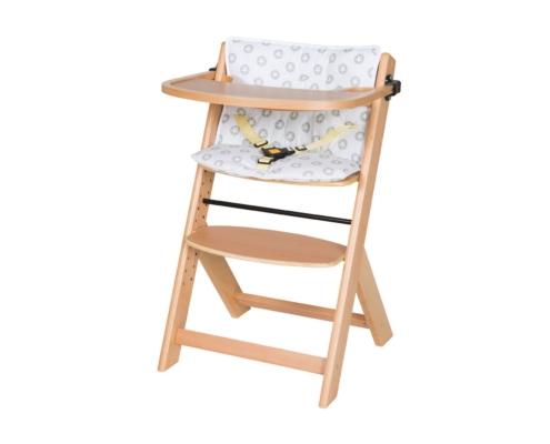 Hochstuhl Domino mit Spielbrett und Sitzkissen