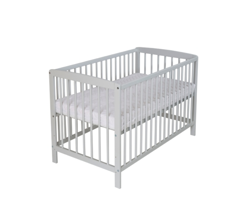 Kinderbett Felix 60x120 cm_ hellgrau