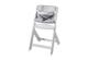 Hochstuhl Domino mit Sitzkissen Big Stars grey und ohne Spielbrett