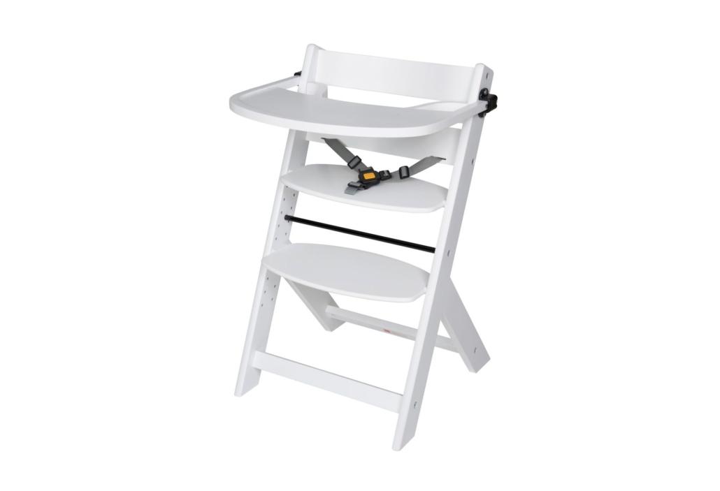 schardt gmbh co kg hochstuhl domino wei mit spielbrett. Black Bedroom Furniture Sets. Home Design Ideas