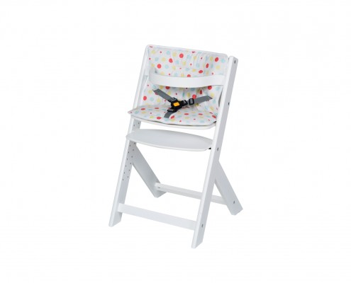 Hochstuhl Domino mit Sitzkissen