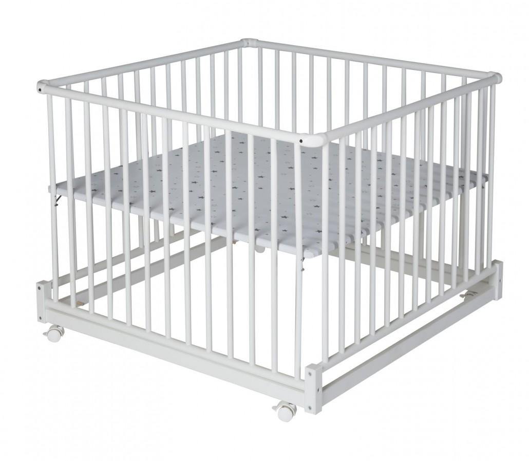 schardt gmbh co kg laufgitter komfort 100 100 cm wei sternchen grau. Black Bedroom Furniture Sets. Home Design Ideas