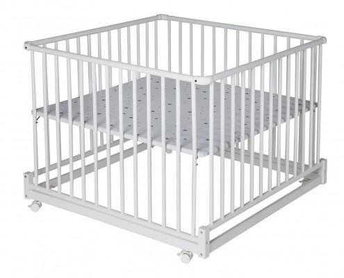 Laufgitter Komfort 100x100 cm weiß