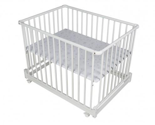 Laufgitter Komfort 75x100 cm weiß