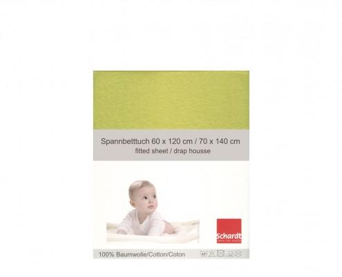 Spannbetttuch grün_Neu