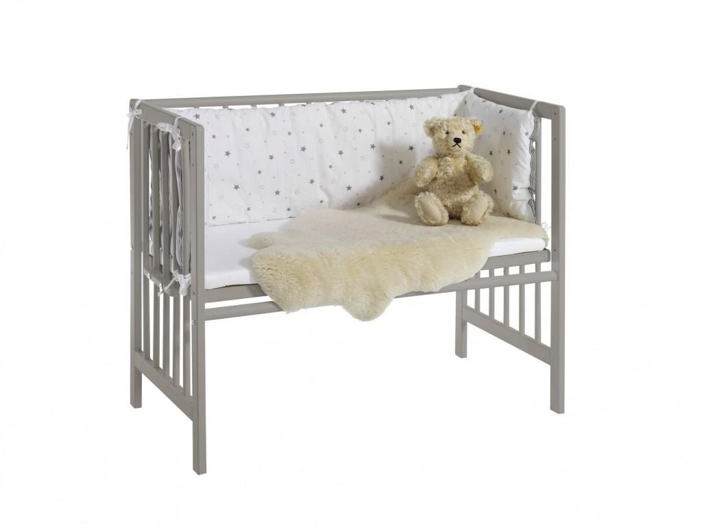 schardt gmbh co kg wiege vario nordic grey sternchen grau. Black Bedroom Furniture Sets. Home Design Ideas