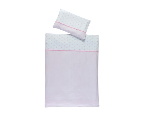 Bettwäsche 2-teilig Ice Crystal rosa