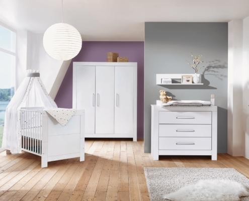 Kinderzimmer Nordic White