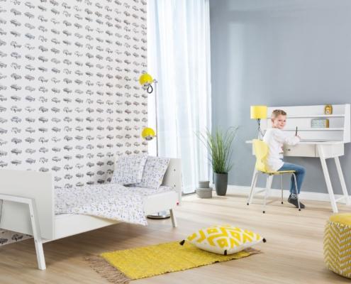 Kinderzimmer Holly White mit Schreibtisch