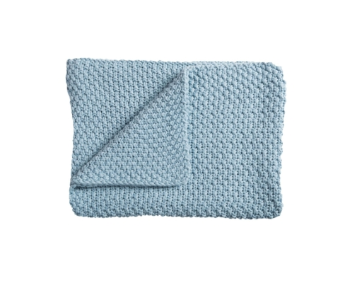Knitted baby blanket 75x100 cm