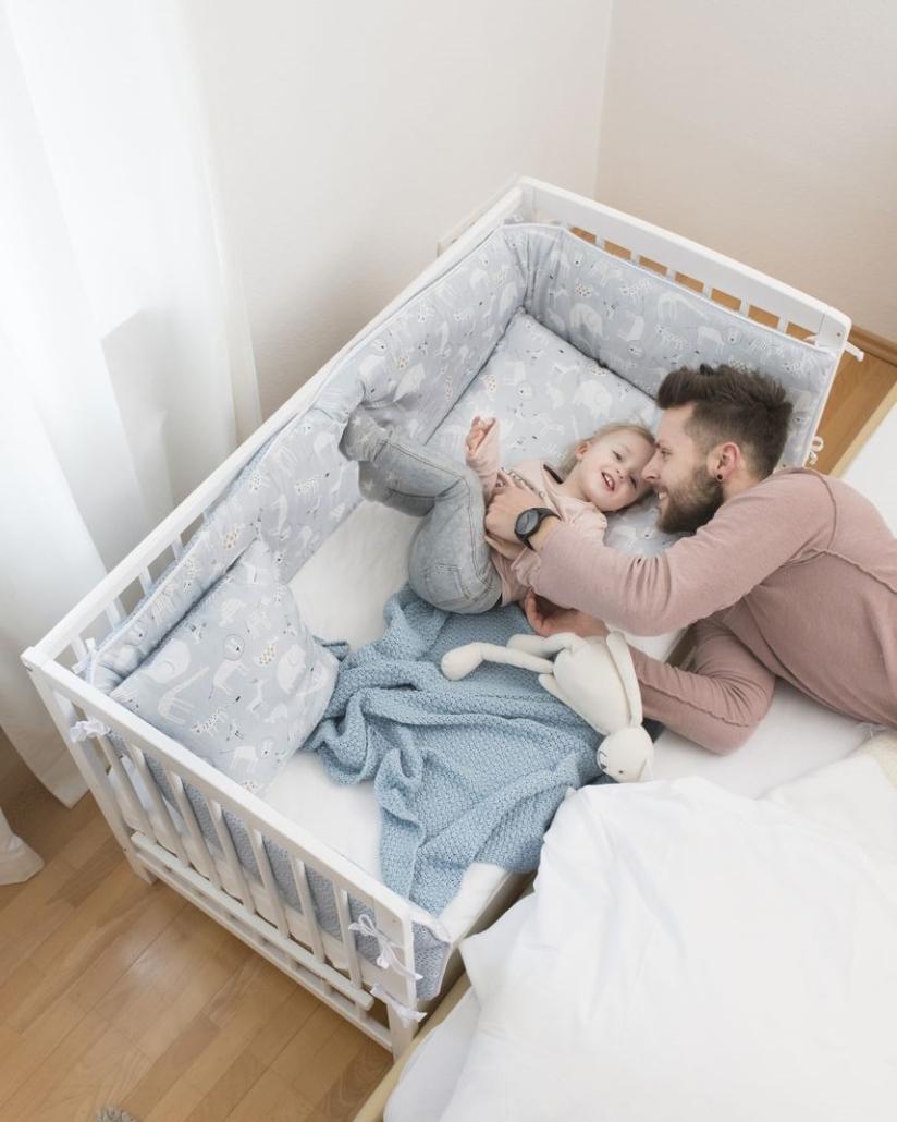 schardt gmbh co kg beistellbett micky natur 60 120 cm. Black Bedroom Furniture Sets. Home Design Ideas