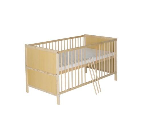 Kinderbett Lenny natur 70x140 cm